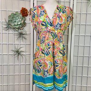 Ralph Lauren Colorful Swim Dress
